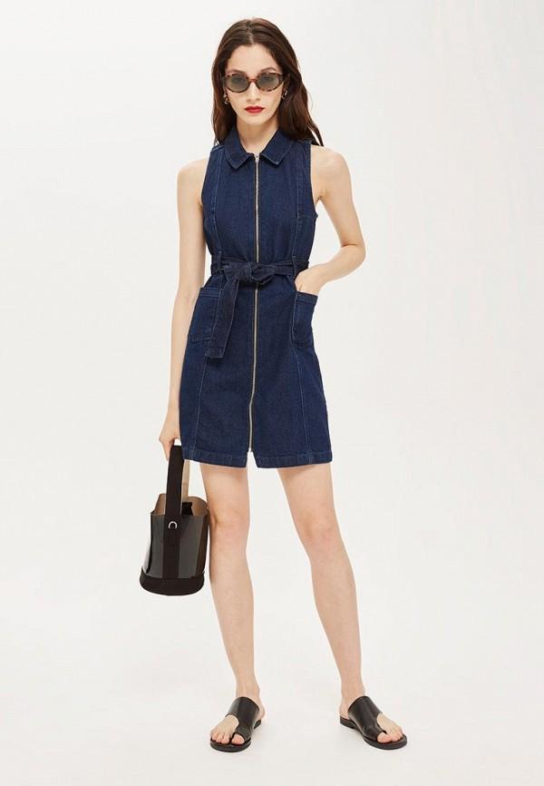 Платье джинсовое Topshop Topshop TO029EWCEVG5