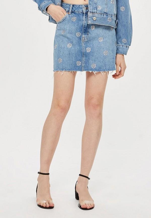 Юбка джинсовая Topshop Topshop TO029EWCEVH0 topshop джинсовая юбка