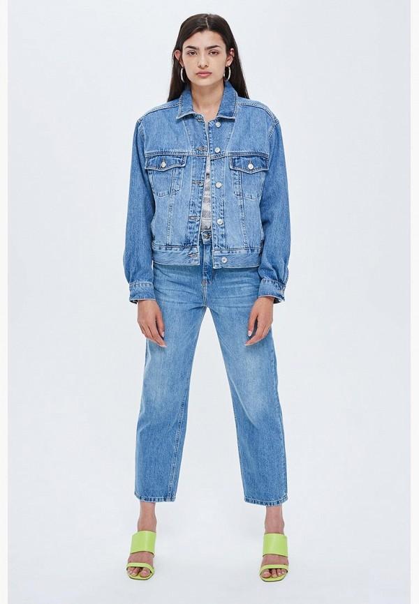 Куртка джинсовая Topshop Topshop TO029EWCFRG6 куртка утепленная topshop topshop to029ewdiqj8