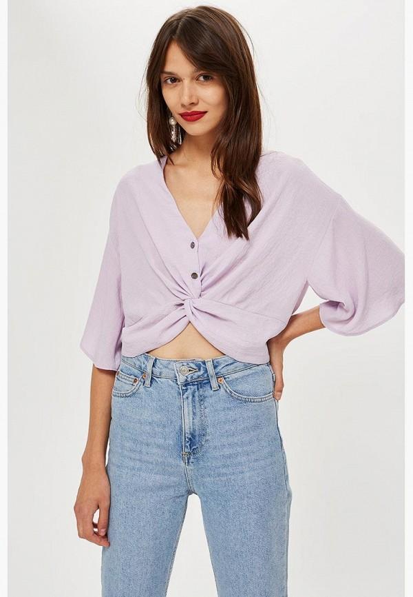 Купить Блуза Topshop, TO029EWCFRI0, фиолетовый, Осень-зима 2018/2019
