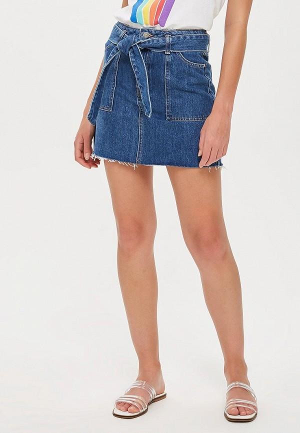 Юбка джинсовая Topshop Topshop TO029EWCHEX0 topshop джинсовая юбка