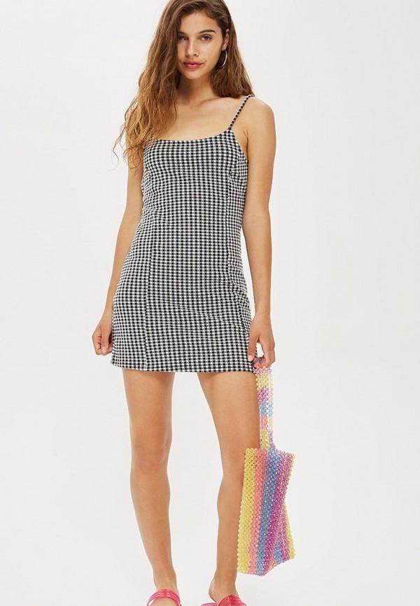 Купить Платье Topshop, to029ewchex2, разноцветный, Осень-зима 2018/2019