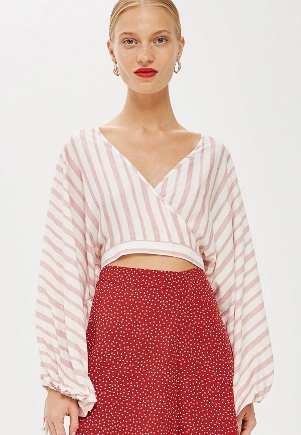 Купить Блуза Topshop, to029ewchey0, белый, Осень-зима 2018/2019