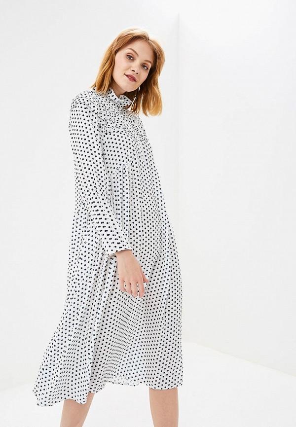 Купить Платье Topshop, to029ewcimm4, белый, Осень-зима 2018/2019