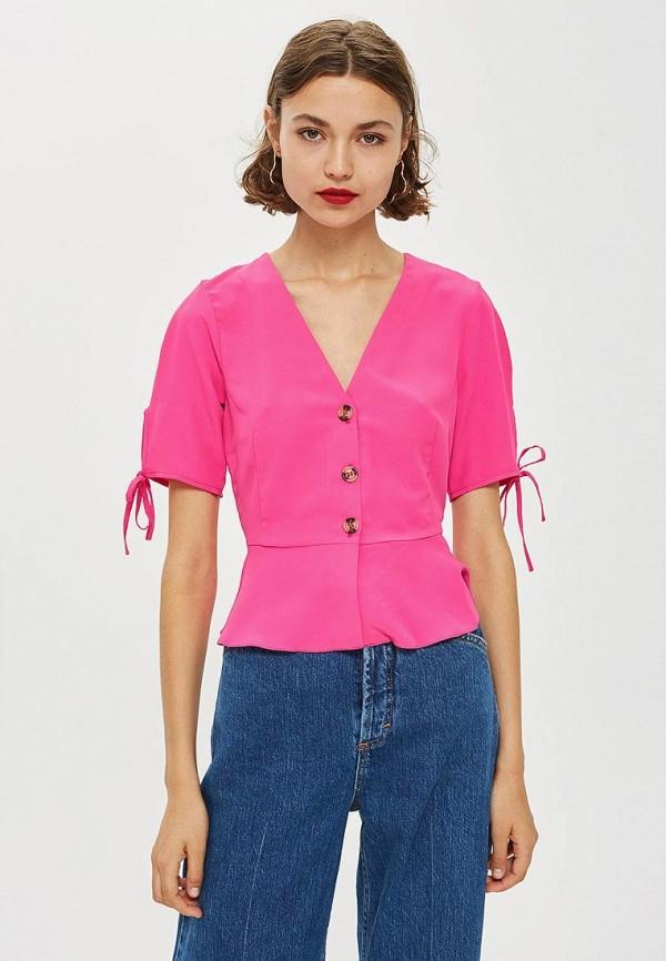 Купить Блуза Topshop, to029ewclhm3, розовый, Осень-зима 2018/2019