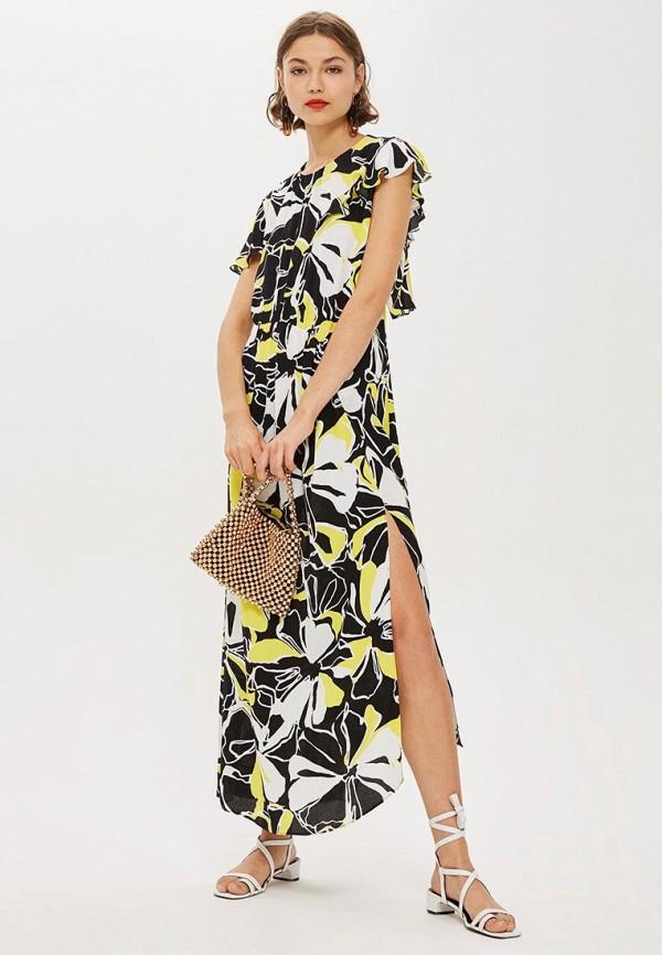Купить Платье Topshop, to029ewcrnt7, разноцветный, Осень-зима 2018/2019