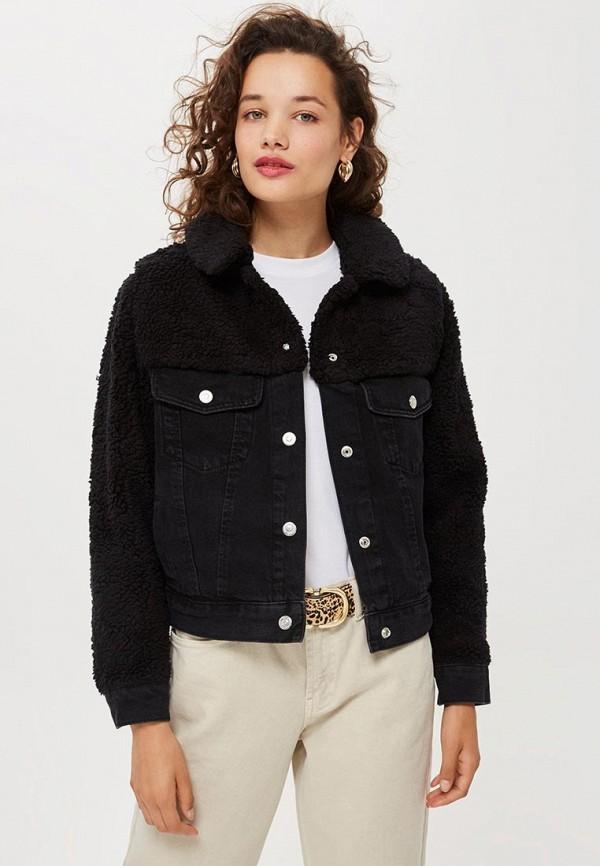 Куртка джинсовая Topshop Topshop TO029EWCSZO1 короткая куртка topshop