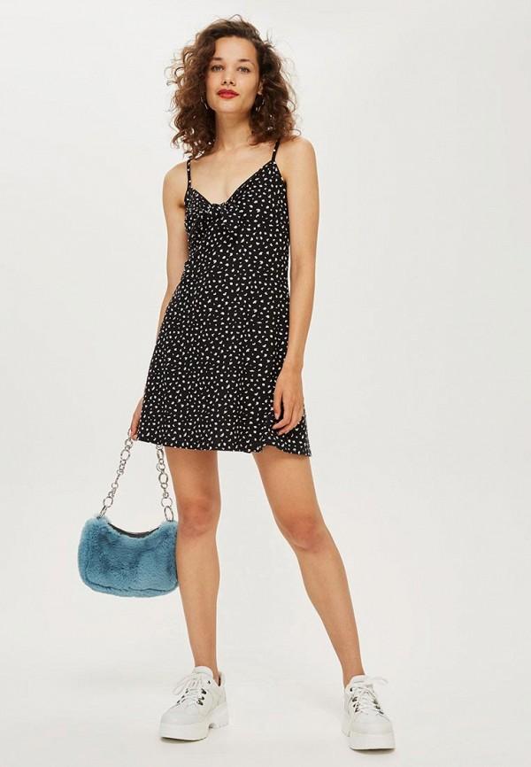 Купить Платье Topshop, TO029EWCSZP3, черный, Осень-зима 2018/2019