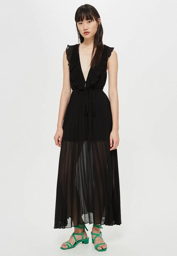 Купить Платье Topshop, TO029EWCSZP4, черный, Осень-зима 2018/2019