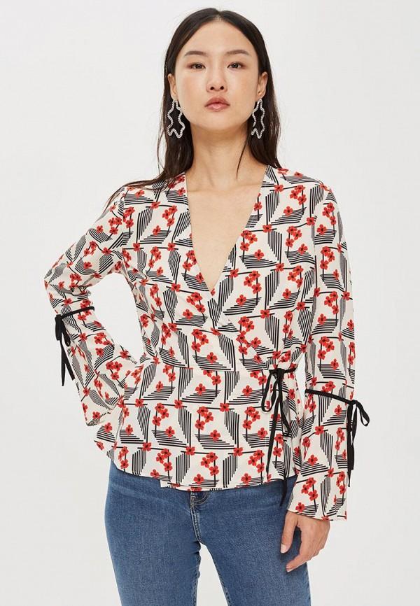 Купить Блуза Topshop, to029ewcszq4, разноцветный, Осень-зима 2018/2019