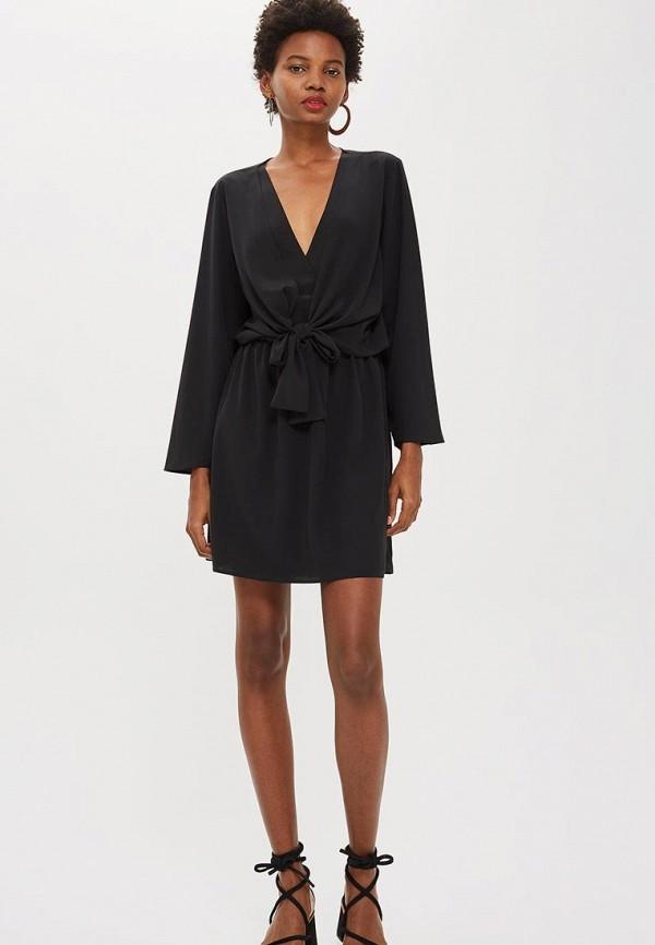 Купить Платье Topshop, to029ewcuwt1, черный, Осень-зима 2018/2019