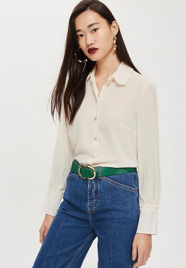 Купить Блуза Topshop, TO029EWCUWU3, бежевый, Осень-зима 2018/2019