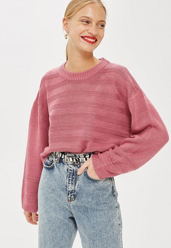 Купить Джемпер Topshop, to029ewcuwu9, розовый, Осень-зима 2018/2019