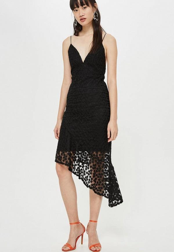 Купить Платье Topshop, to029ewcygk1, черный, Осень-зима 2018/2019