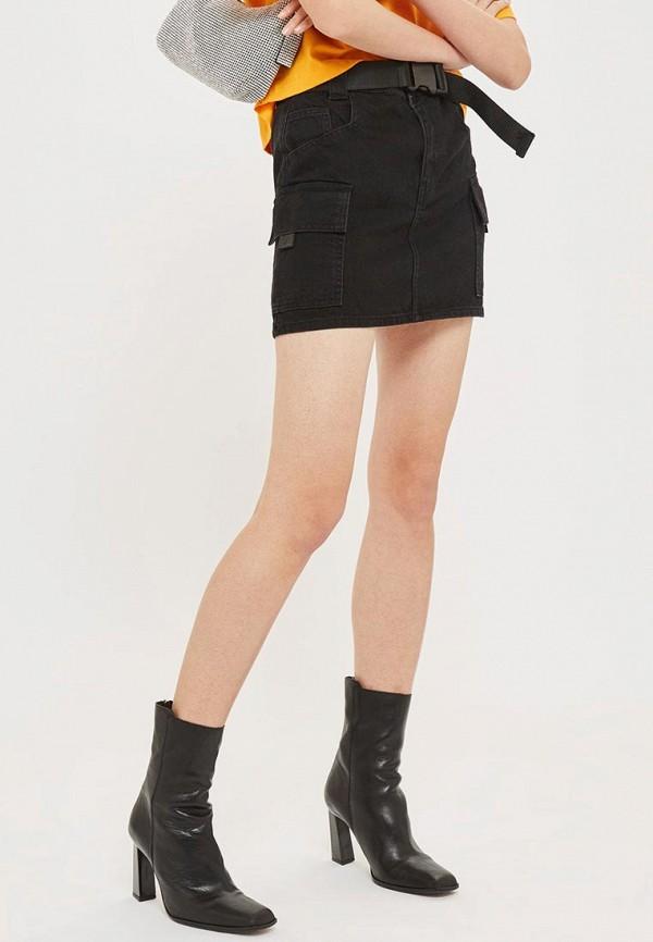 Юбка джинсовая Topshop Topshop TO029EWDFHB3 topshop джинсовая юбка