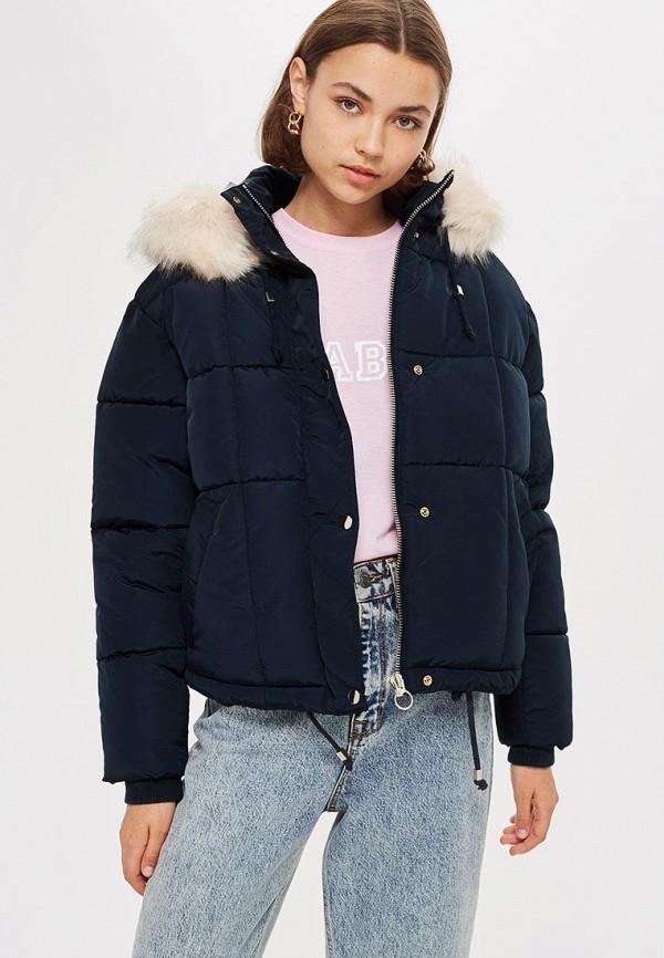 Куртка утепленная Topshop Topshop TO029EWDHOT1 короткая куртка topshop