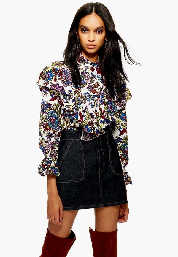 Блуза Topshop Topshop TO029EWDIQK1 блуза topshop topshop to029ewjex89