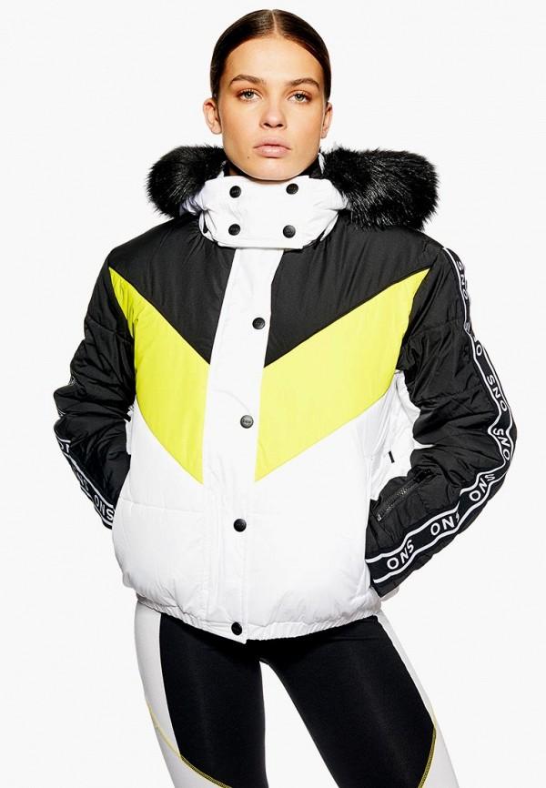 Куртка утепленная Topshop Topshop TO029EWDKLI2 короткая куртка topshop