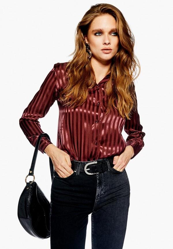 Блуза Topshop Topshop TO029EWDKLJ4 блуза тренд радужный блеск цвет бордовый
