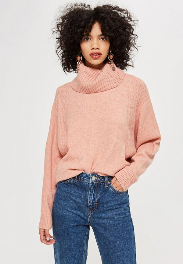 Купить Свитер Topshop, to029ewdklk2, розовый, Осень-зима 2018/2019