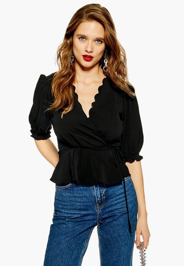 Купить Блуза Topshop, to029ewdmpc6, черный, Осень-зима 2018/2019
