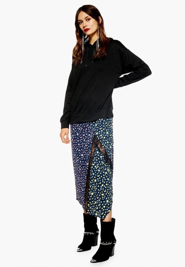 Купить Платье Topshop, to029ewdpfd1, разноцветный, Осень-зима 2018/2019