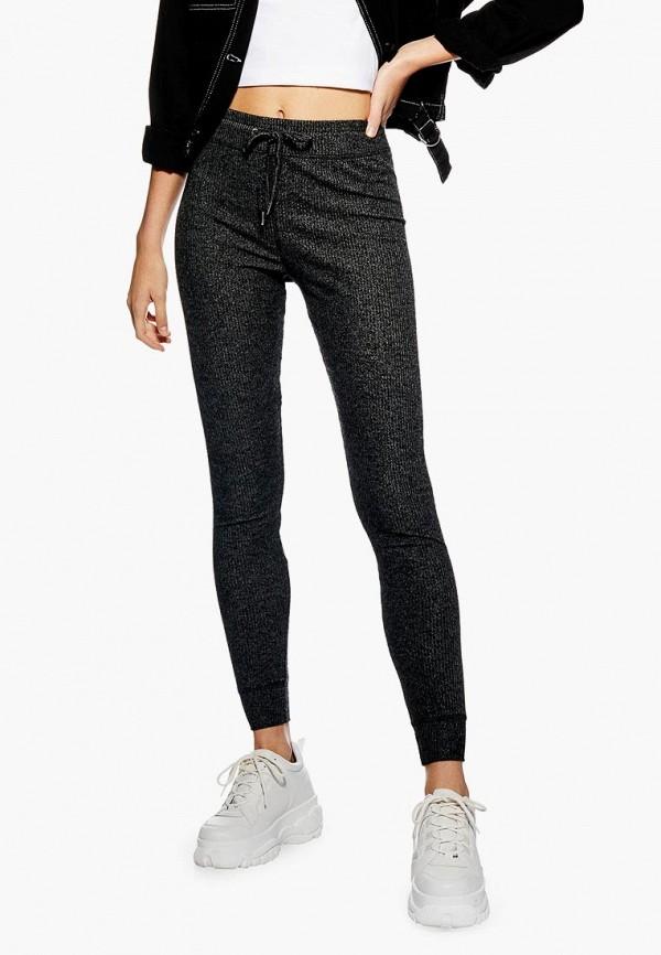 женские спортивные спортивные брюки topshop, серые