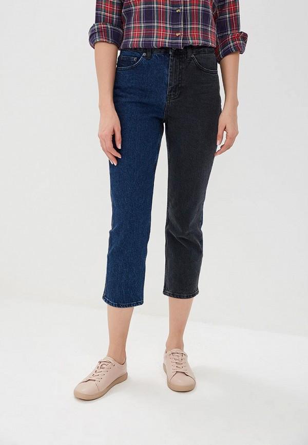 женские прямые джинсы topshop, разноцветные