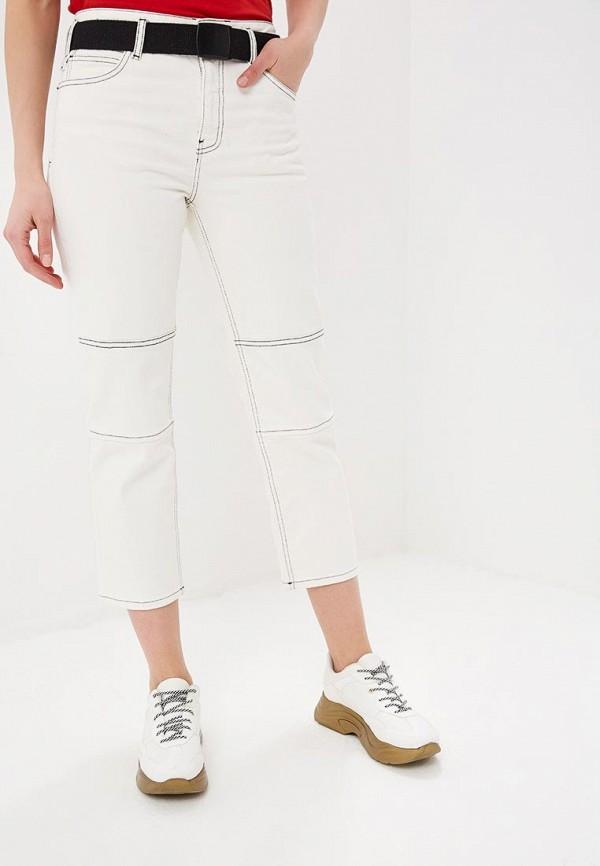 женские прямые джинсы topshop, белые