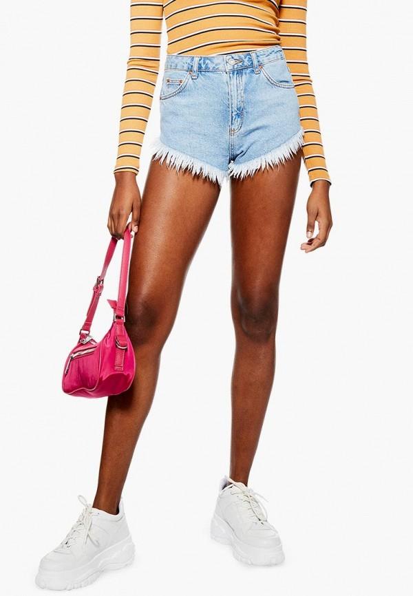 Шорты джинсовые Topshop Topshop TO029EWEIQE9 цена 2017