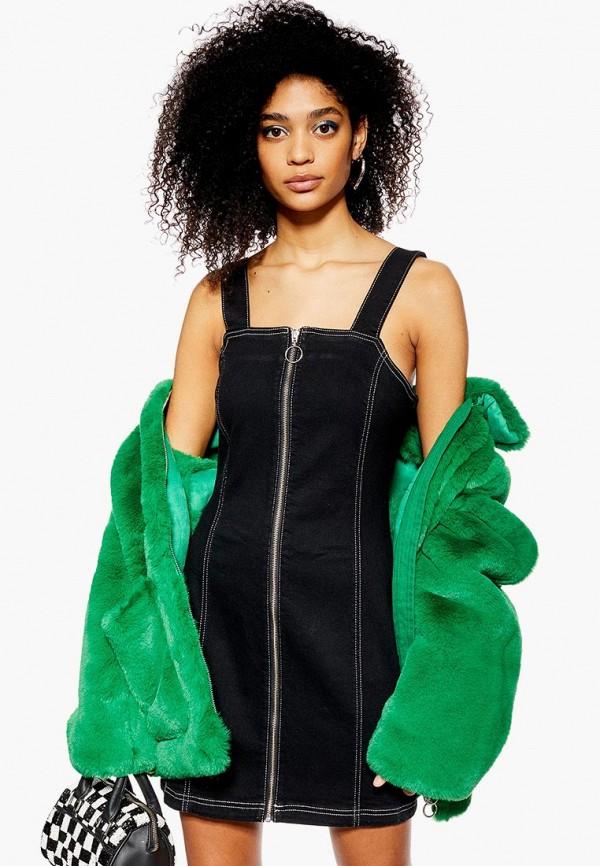 Платье джинсовое Topshop Topshop TO029EWEIQF6 платье topshop topshop to029ewbjst1