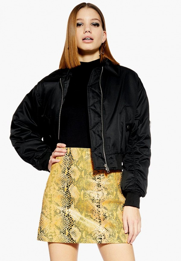 Куртка Topshop Topshop TO029EWEIQK5 короткая куртка topshop