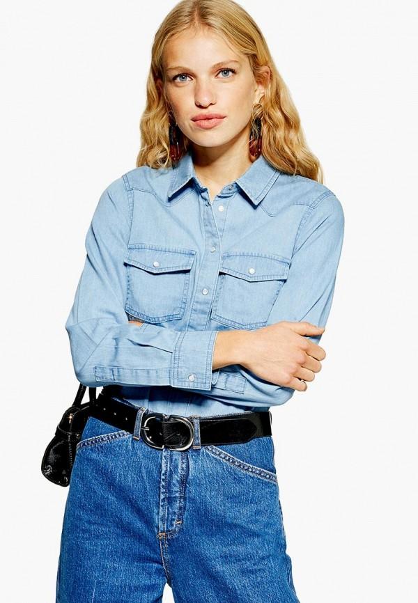 Рубашка джинсовая Topshop Topshop TO029EWEQVH6 худи topshop topshop to029ewcmpn5