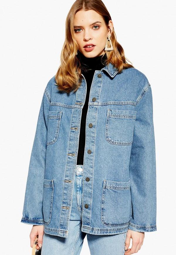 Куртка джинсовая Topshop Topshop TO029EWEQVH7 леггинсы topshop topshop to029ewdpfe8