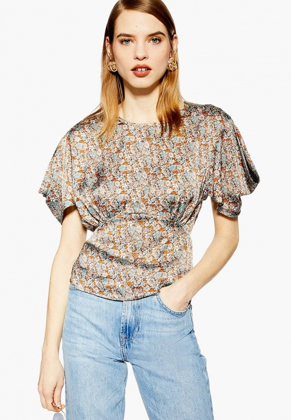 Блуза Topshop Topshop TO029EWEQVJ3 блуза topshop topshop to029ewcuwu3