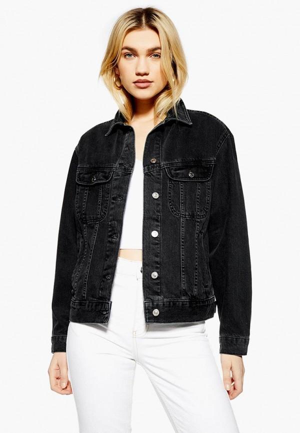 Куртка джинсовая Topshop Topshop TO029EWESBS5 куртка утепленная topshop topshop to029ewdiqj8