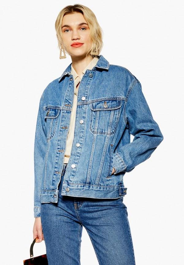 Куртка джинсовая Topshop Topshop TO029EWESBS6 жакет topshop topshop to029ewapsb6