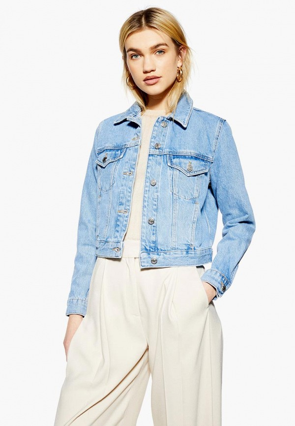 Куртка джинсовая Topshop Topshop TO029EWESOR6 topshop толстовка
