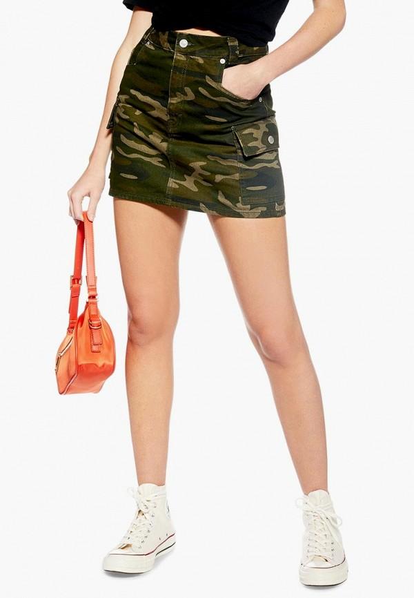 Джинсовые юбки Topshop