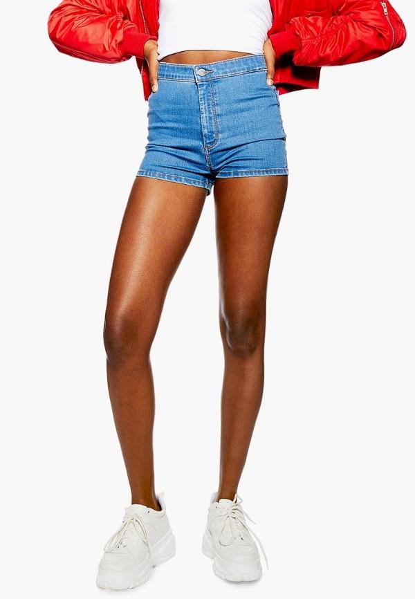 Шорты джинсовые Topshop Topshop TO029EWEZBL5 цена 2017