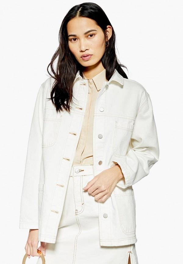 Куртка джинсовая Topshop Topshop TO029EWEZBL6 куртка утепленная topshop topshop to029ewdiqj8