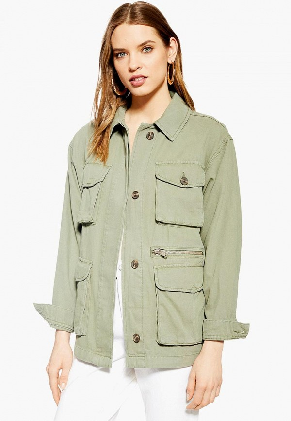 Куртка Topshop Topshop TO029EWEZBN6 куртка утепленная topshop topshop to029ewdiqj8