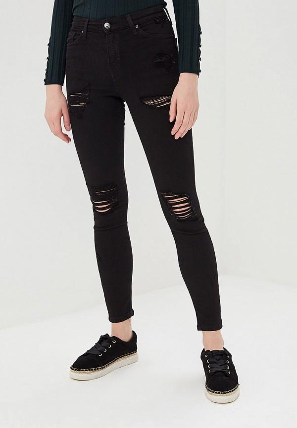 женские джинсы topshop, черные
