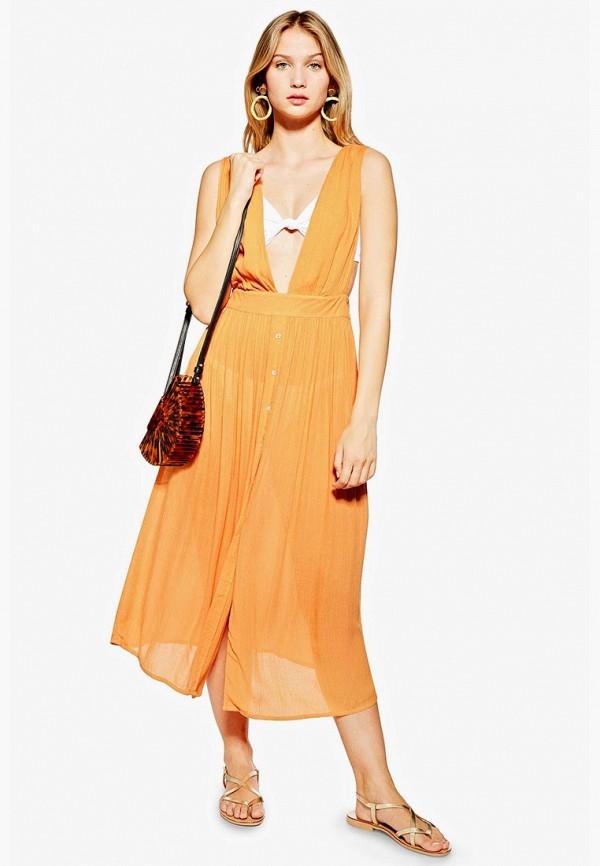 Туника пляжная Topshop Topshop TO029EWFBEA3 туника amy vermont klingel цвет черный оранжевый рисунок