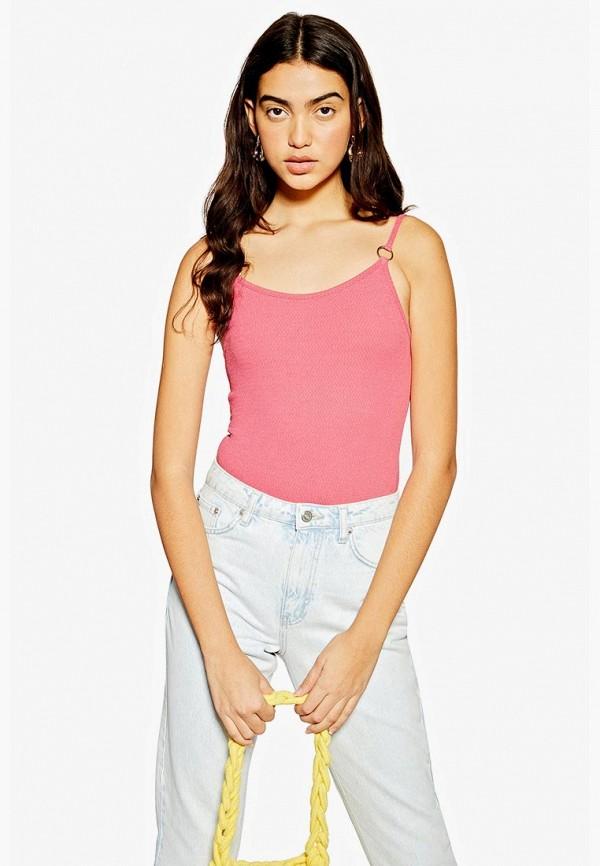 женские боди topshop, розовые