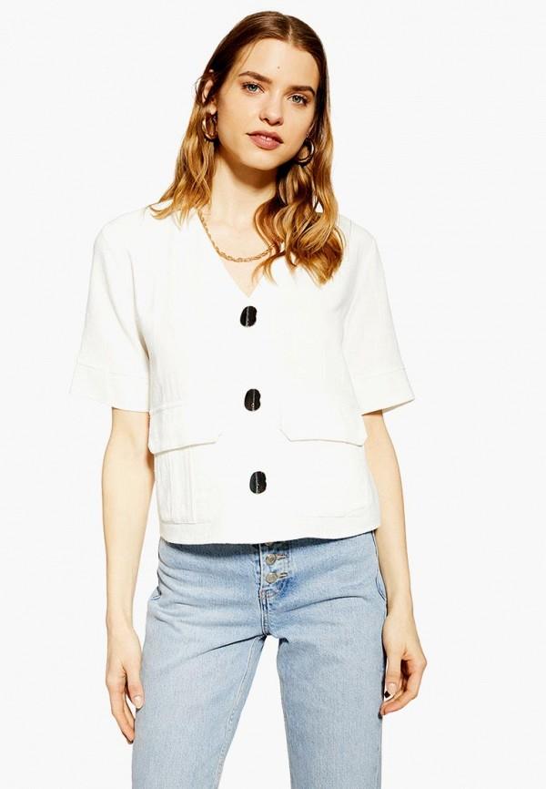 женская блузка topshop, белая