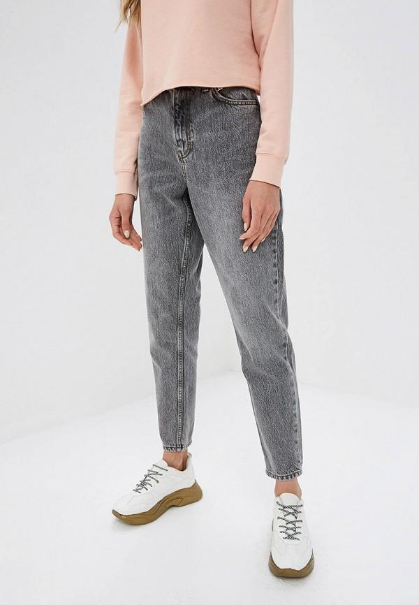 женские джинсы topshop, серые