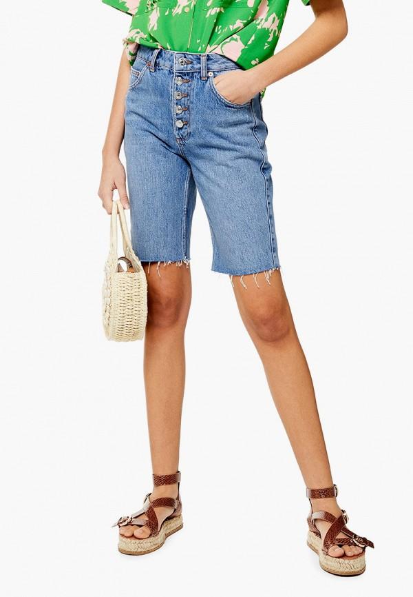 Шорты джинсовые Topshop Topshop TO029EWFGPF9 цена 2017