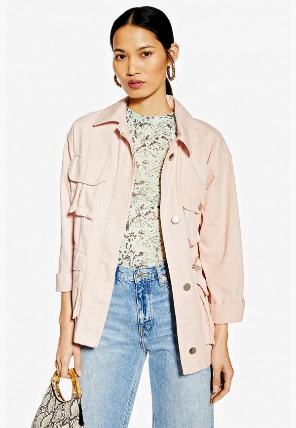 Куртка джинсовая Topshop Topshop TO029EWFJJQ2 куртка утепленная topshop topshop to029ewdiqj8