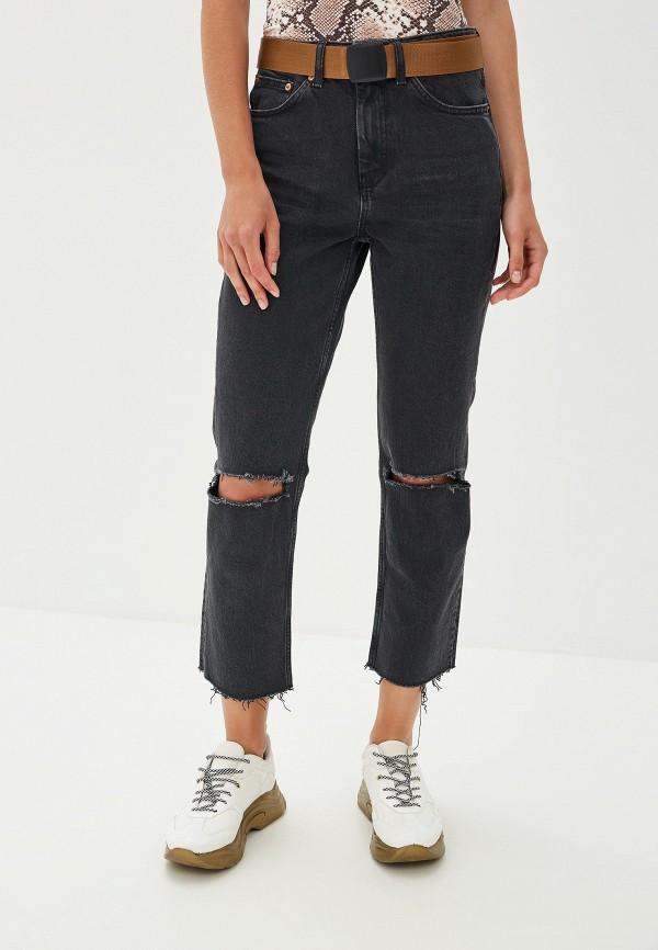 Купить женские джинсы Topshop черного цвета